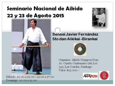 Seminario Nacional Aikido 2015