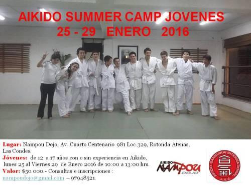 summer camp jovenes 2016