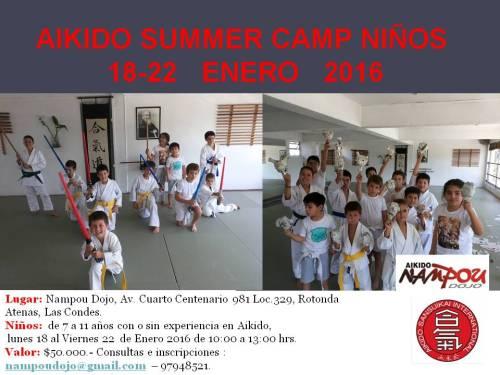 summer camp niños 2016